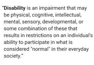 medical model disability