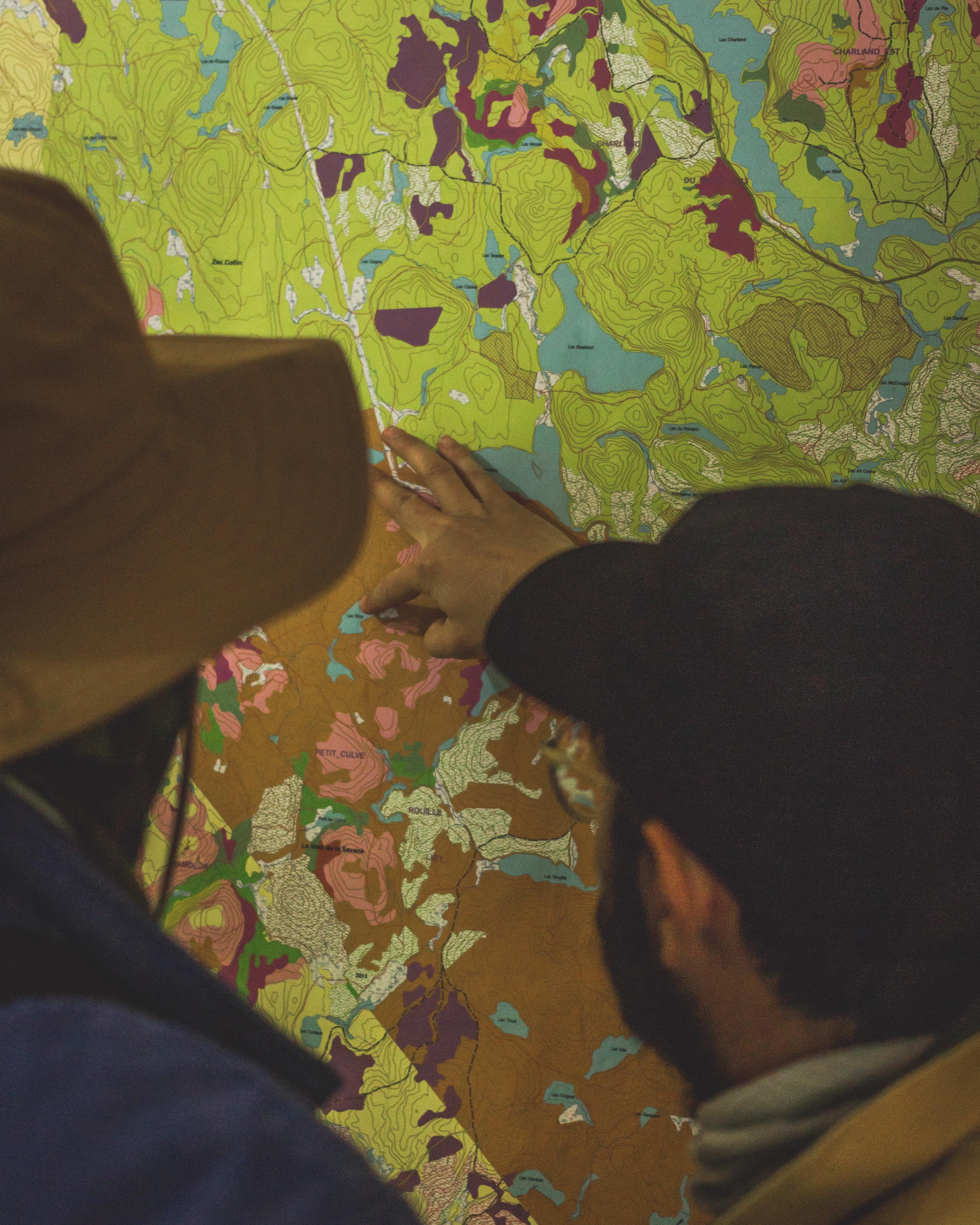 Carte de la pourvoirie