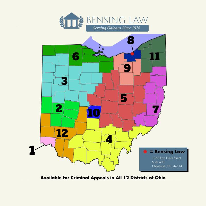 Bensing Law Contact Map 1 - Bensing Law
