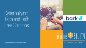 Cyberbullying Tech and Tech-Free Solutions Cover Page
