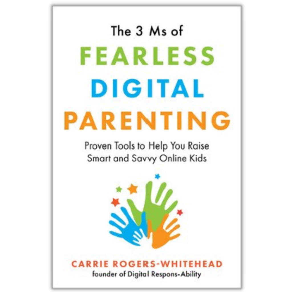 3 Ms of Fearless Digital Parenting book coverpage