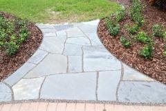 Sandstone with granite gravel