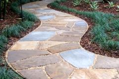 Dry-laid pathway