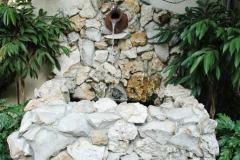 Florida fieldstone fountain