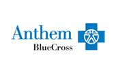 Logo for Anthem BlueCross.