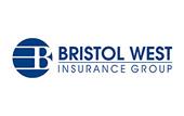 Logo for Bristol West Insurance Group.