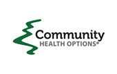 Logo for Community Health Options.