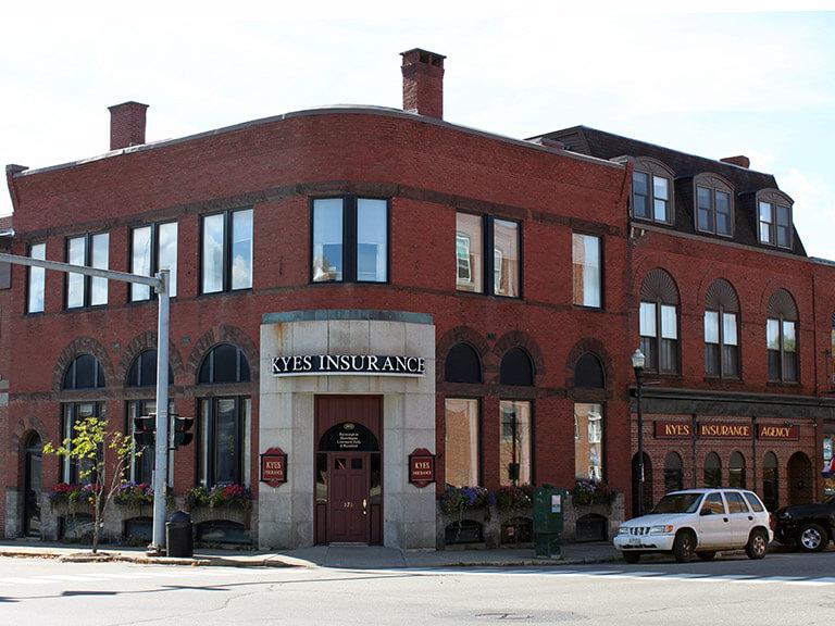 Kyes Insurance, Farmington, Maine.