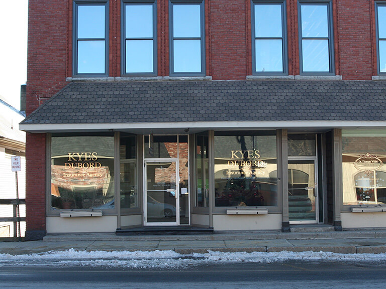 Kyes Insurance, Livermore Falls, Maine.