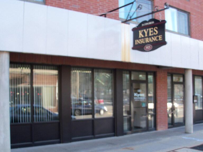 Kyes Insurance, Rumford, Maine.