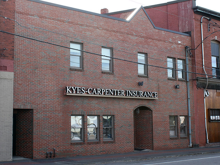 Kyes Insurance, Skowhegan, Maine.