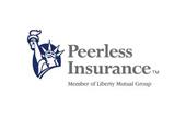 Logo for Peerless Insurance.