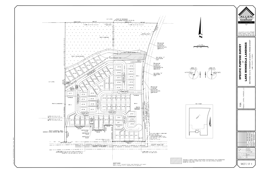 Image: Lake Minneola Landings site plan update July 2016