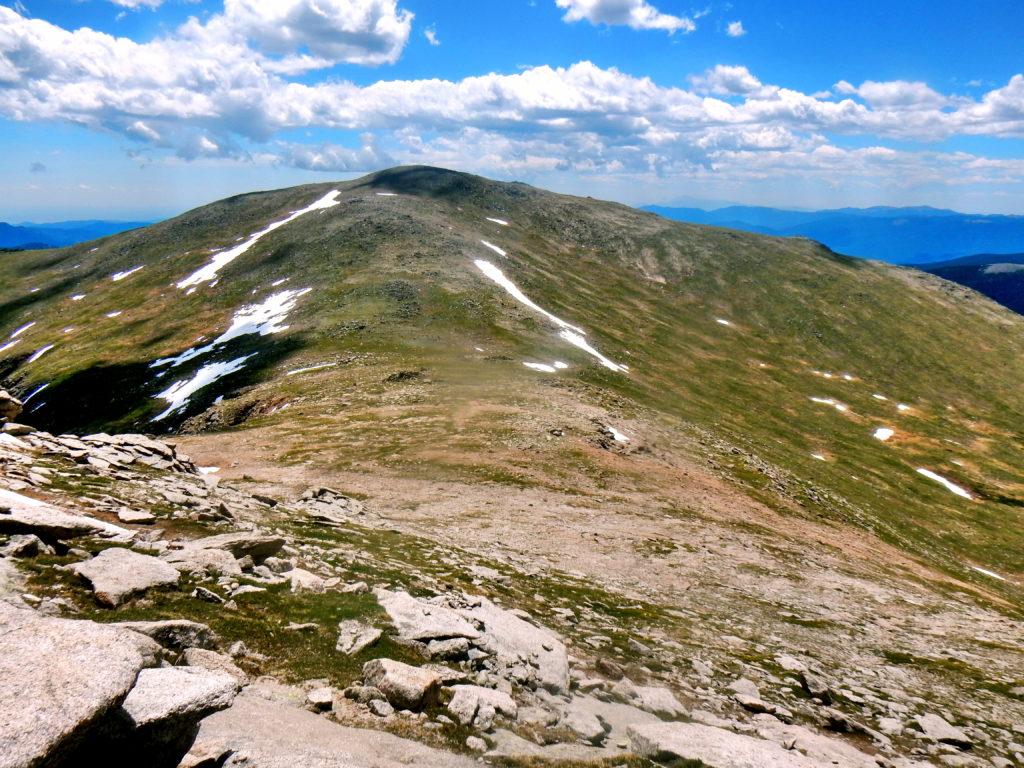 "Rosalie Peak (13,575′) & ""Epaulie"" (13,530′)"