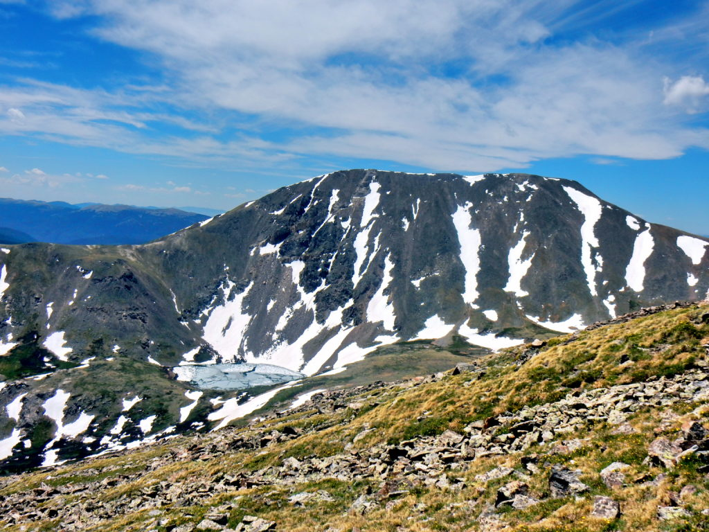 Guanella Pass Loop- Square Top Mtn. (13,794′), Argentine Peak (13,738′), Mt. Wilcox (13,408′)
