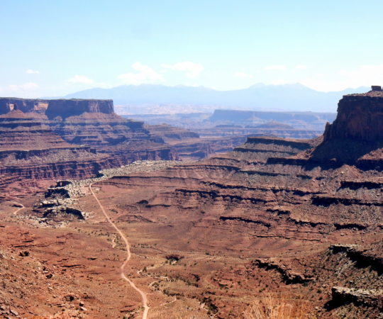 Shafer Trail to Musselman Arch- Canyonlands N.P.