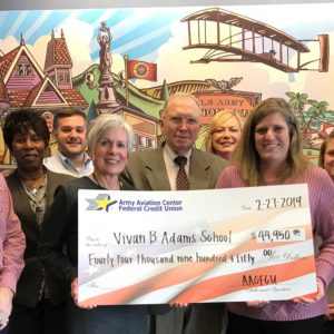 VBAS Awarded $44,950 for Amelia Brown Kitchen Remodel