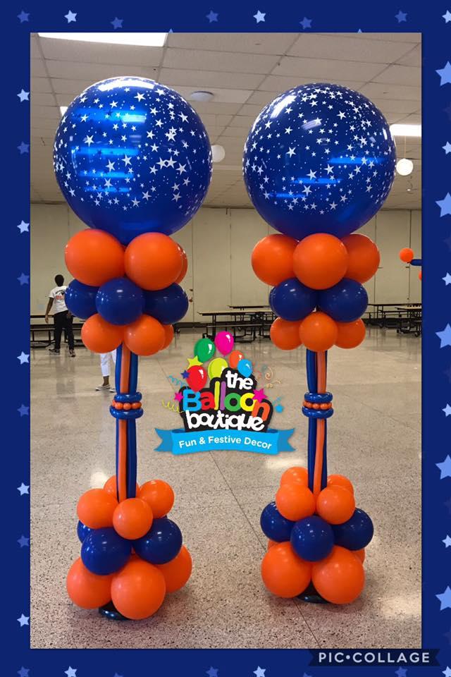 Custom Balloon Columns