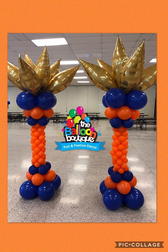 Taper Balloon Columns