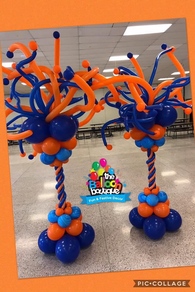 Whimsical Balloon Columns
