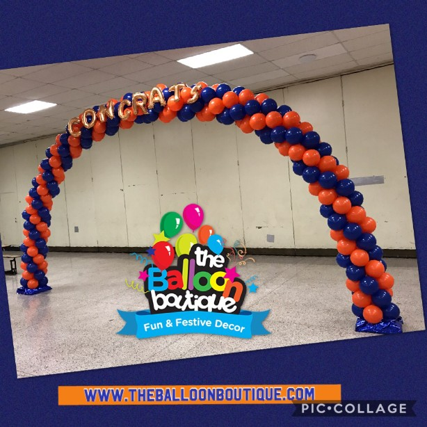 Extra Large Spiral Arch