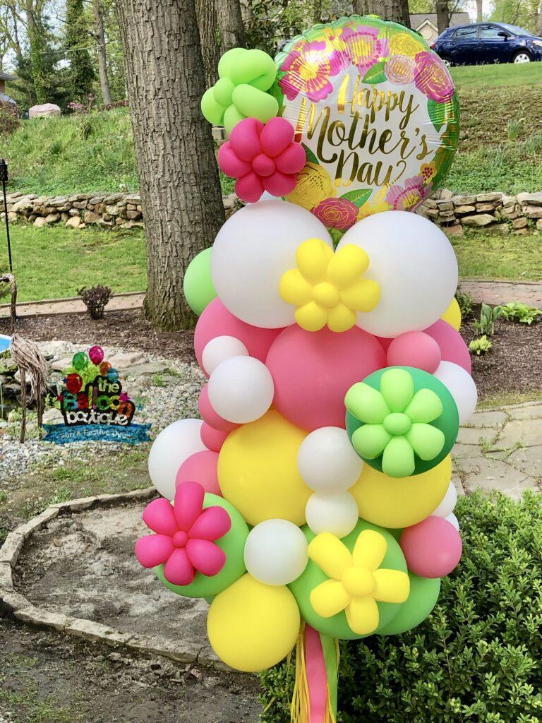 Organic Yard Art Celebration Pole