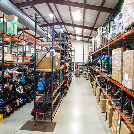 Huge Warehouse Tack Inventory