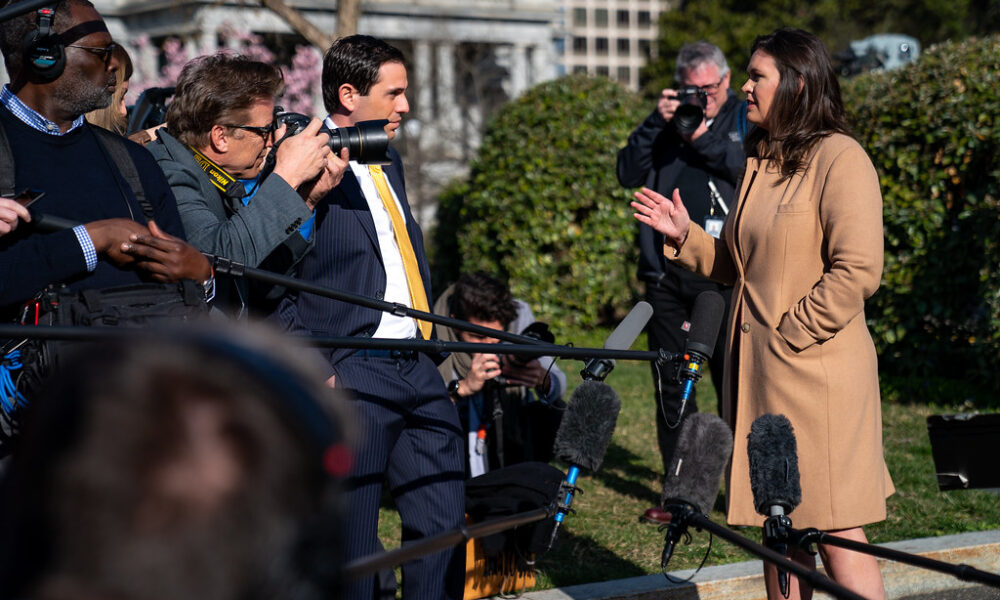 Trump-Wing Republicans Angered that Former Trump Press Secretary, Sarah Huckabee Sanders Being, Is Being Blacklisted for Jobs