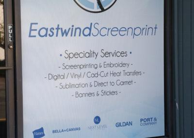 Eastwind Custom Window Decals
