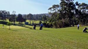 exeter golf club mixed sixth fairway