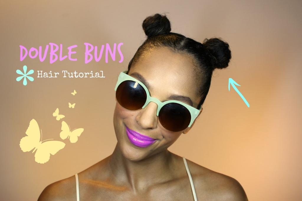 Double Buns Hair Tutorial