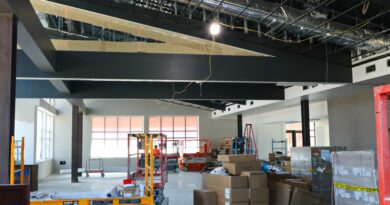 Construction Update: Final Painting in the Parish Hall