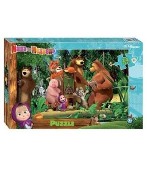 """90048 Step Puzzle maxi-24 """"Маша и Медведь-2"""""""