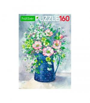 Hatber Puzzle-160 Акварельный букет