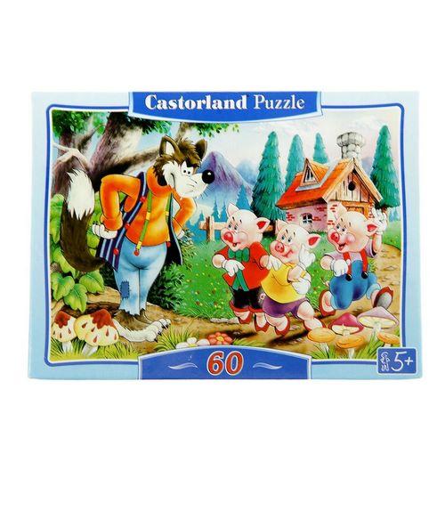"Castorland. Пазл 60 MIDI  ""Три поросенка"""