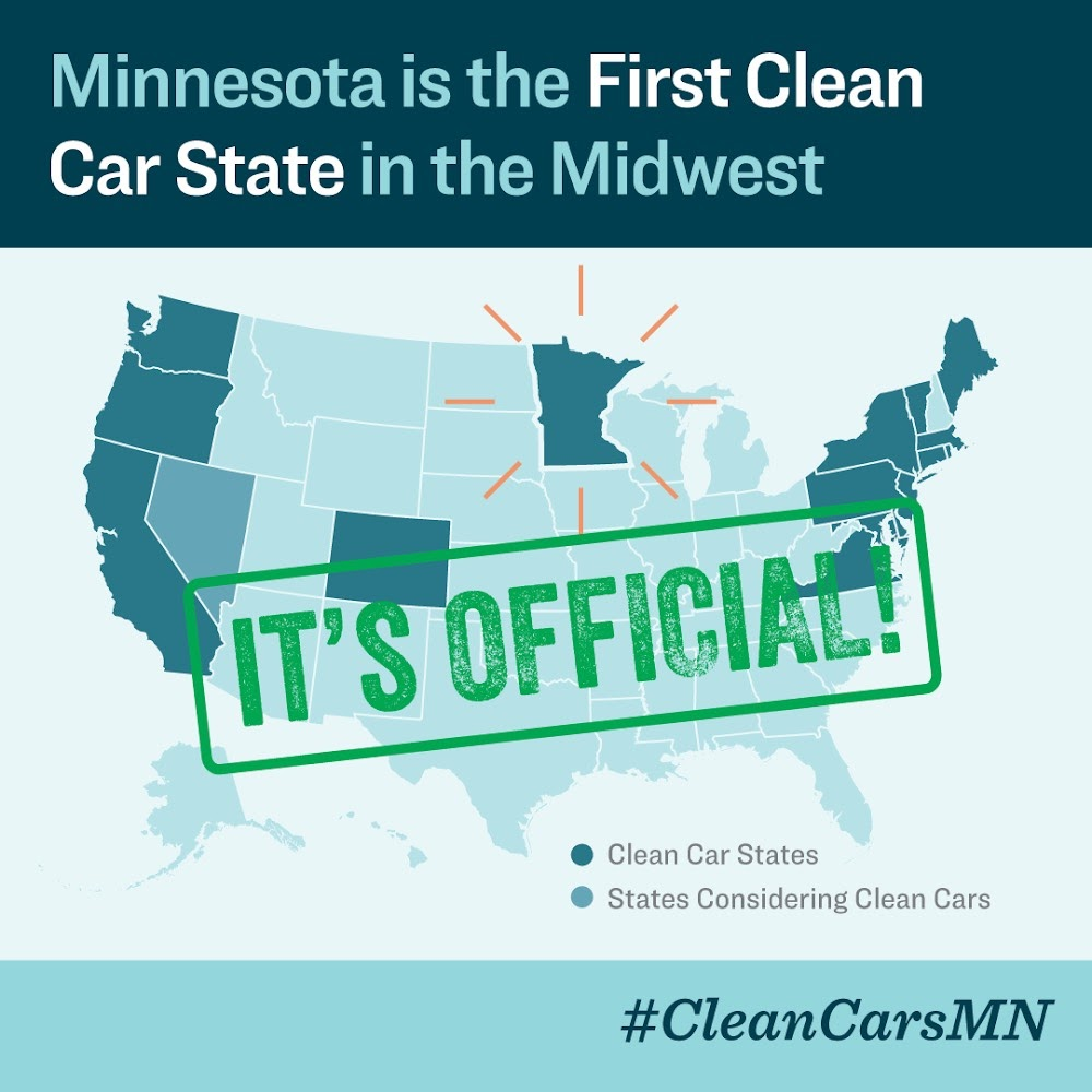 Sierra Club North Star Chapter empowered Minnesotans to push for Clean Car Standards