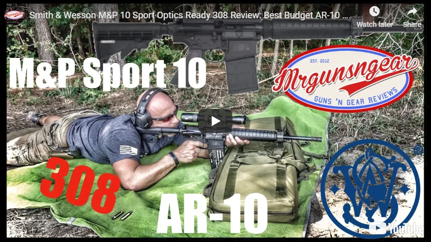 Smith & Wesson M&P10 Sport Optics Ready Rifle Review