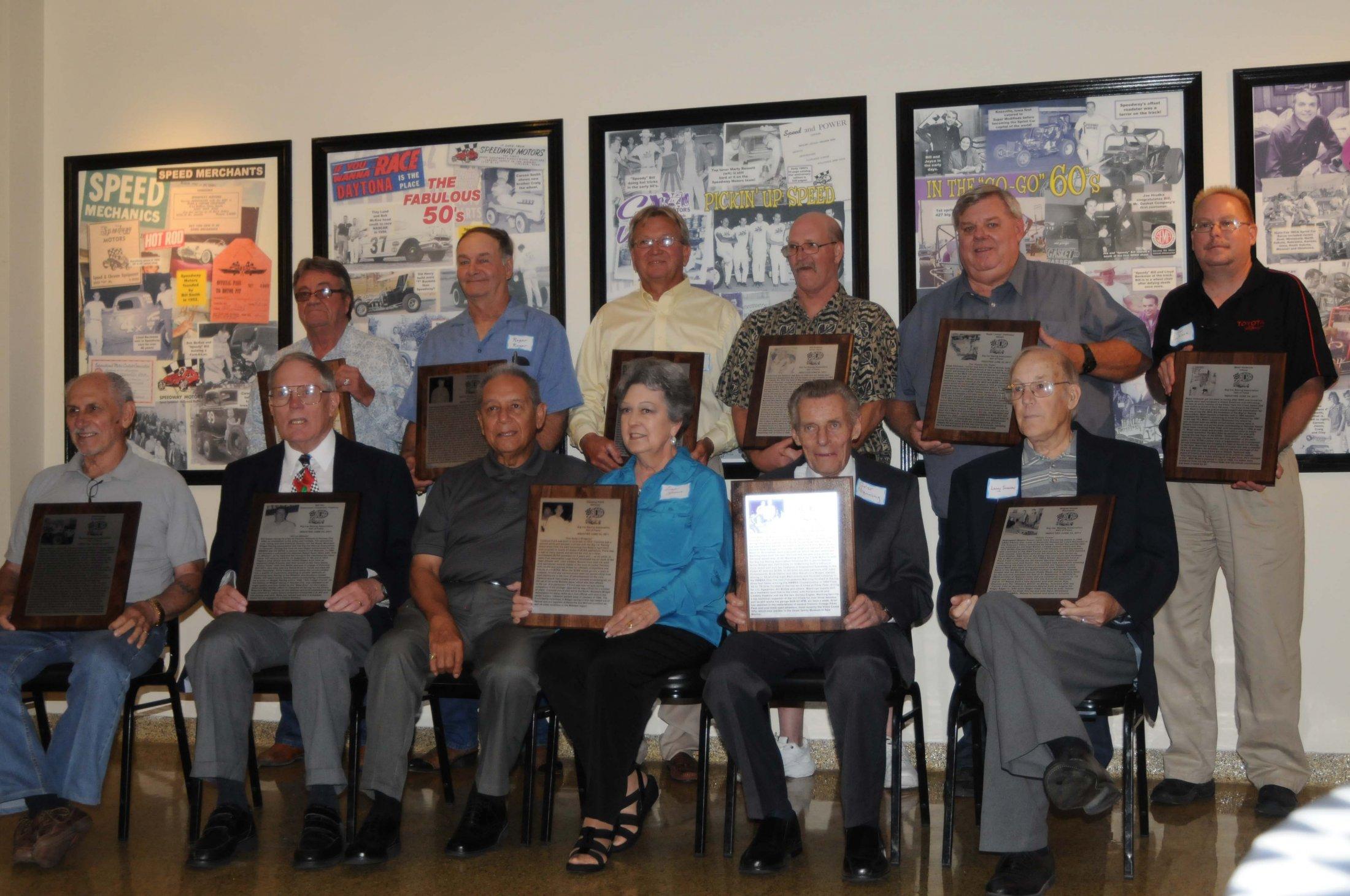 2011 Hall Of Fame Group Shot