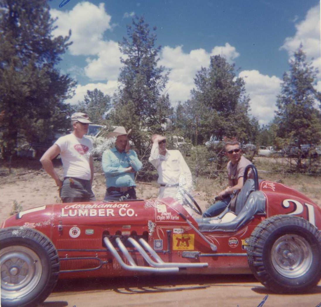 Clyde Mcfarlin #21 At The Peak 1965