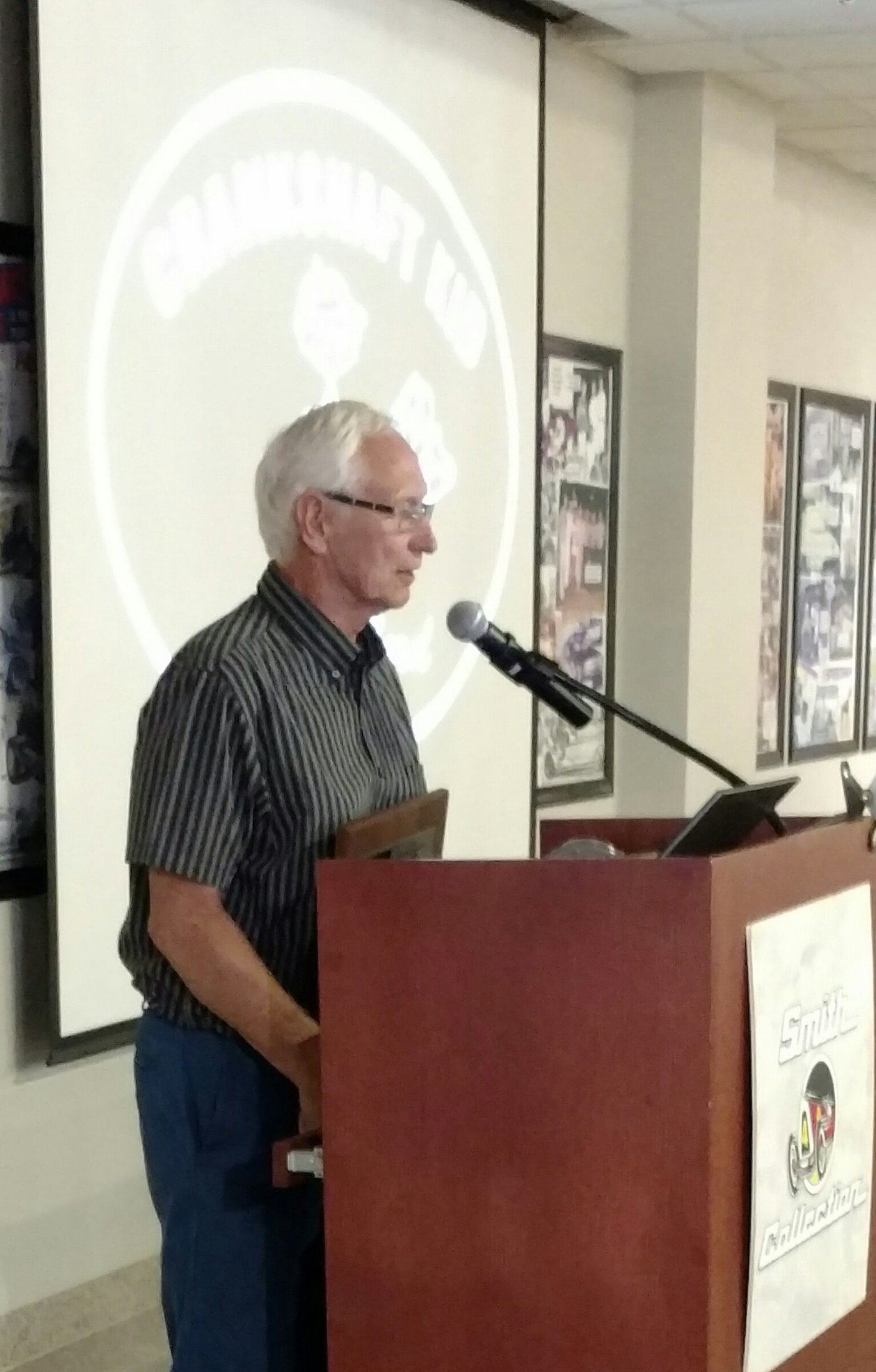 Inductee Ted Hall