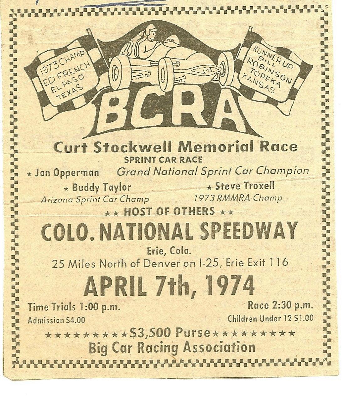 Erie Colorado - Bcra 1974