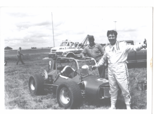 Belleville 1972 - Lonnie Morosic & Driver George Hite