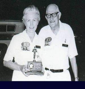 Officials Les And Beryl Ward, Speed Sport News Correspondents