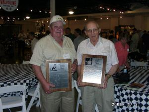 40's  Competitors Gene Novotny and Jack Hahn