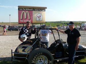 Dick Sutcliffe and Craig Hitchcock At Eagle