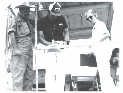 Warren Hamilton, Harry Nickel and Berl Ward