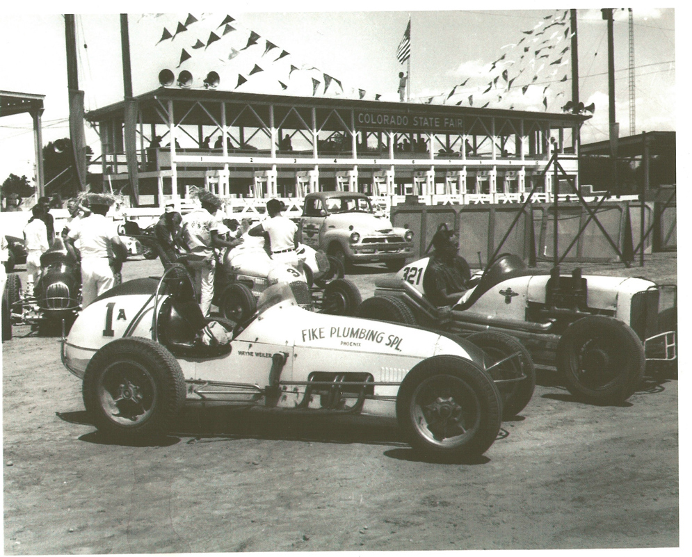 1958 Colorado State Fair - Arizona's Wayne Wieler
