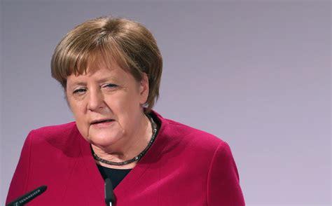 The German Chancellor, Angela Dorothea Merkel