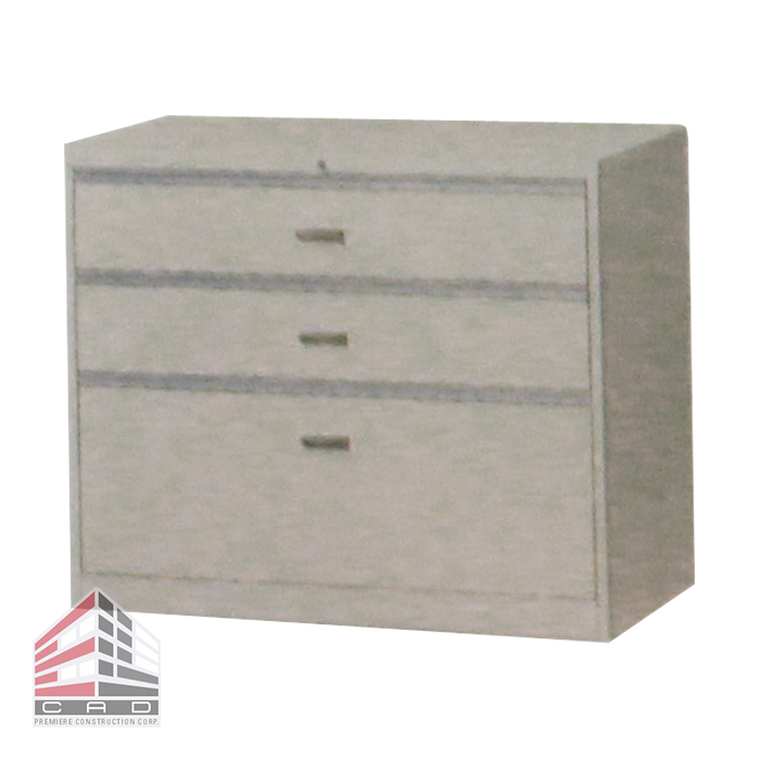 Filing System- Steel Cabinet CD-3A