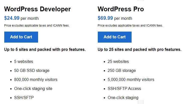 WordPress Developer and WordPress Pro Hosting